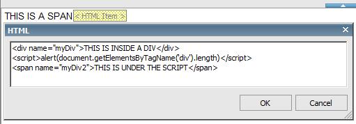 script tag
